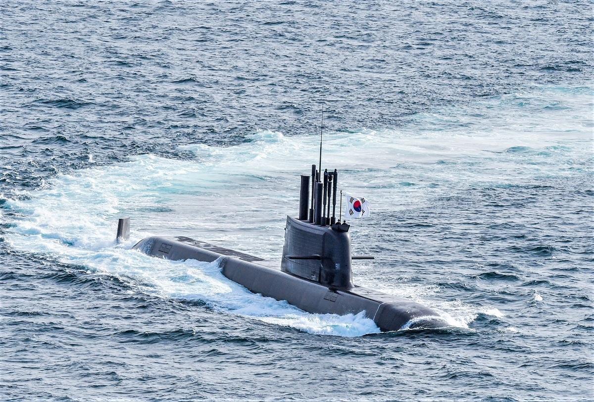 Republic of Korea Navy Commissions ROKS Dosan Ahn Chang-ho (SS-083) Submarine