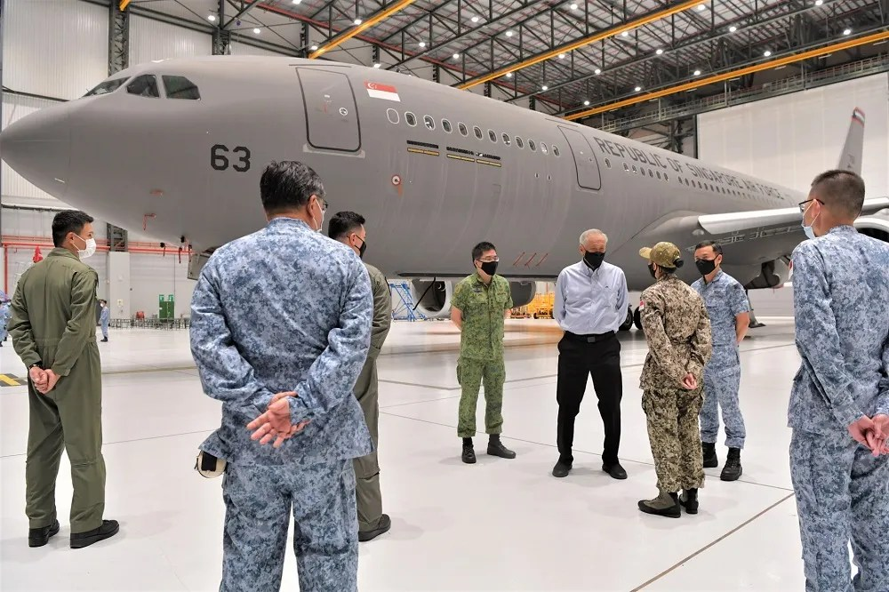 Republic of Singapore Air Force A330 MRTT Deployed to Assist US Evacuation Operations