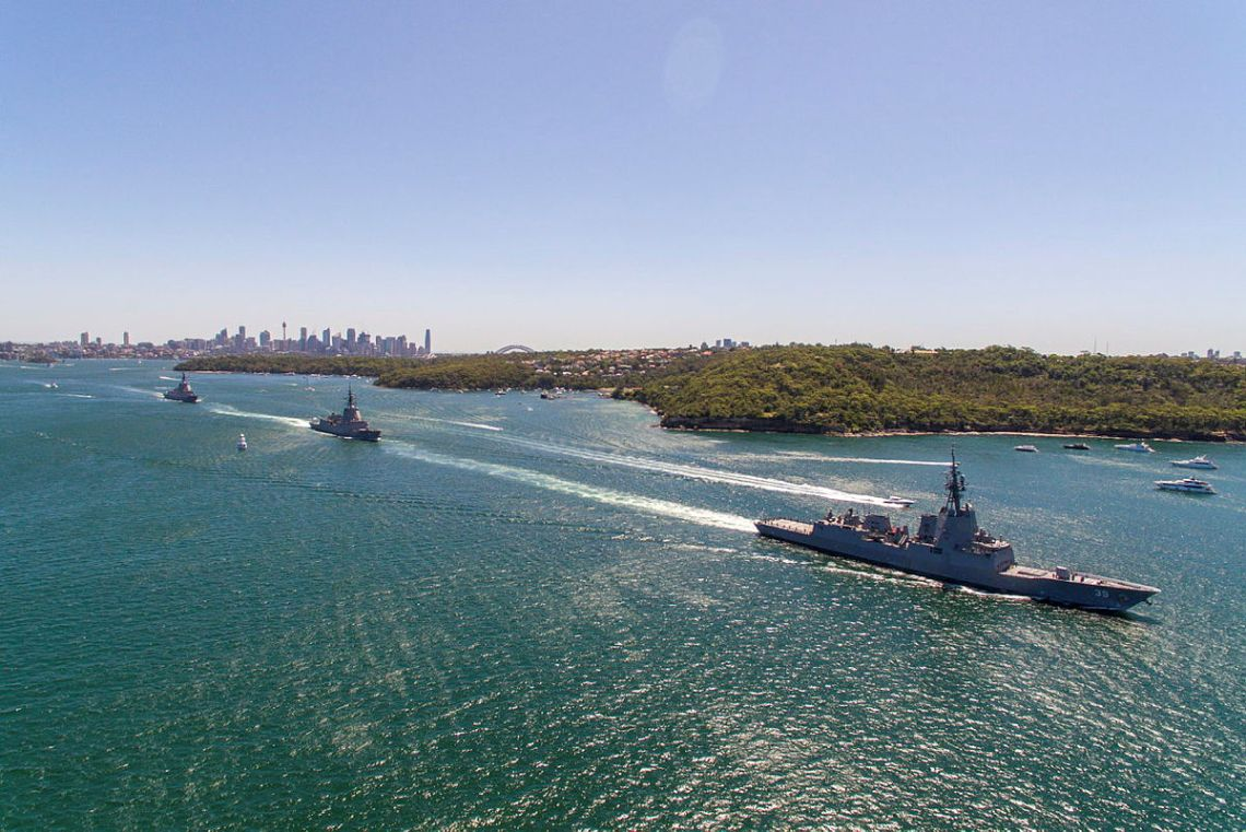 Royal Australian Navy's Hobart-class Air Warfare Destroyers Ready for Operations