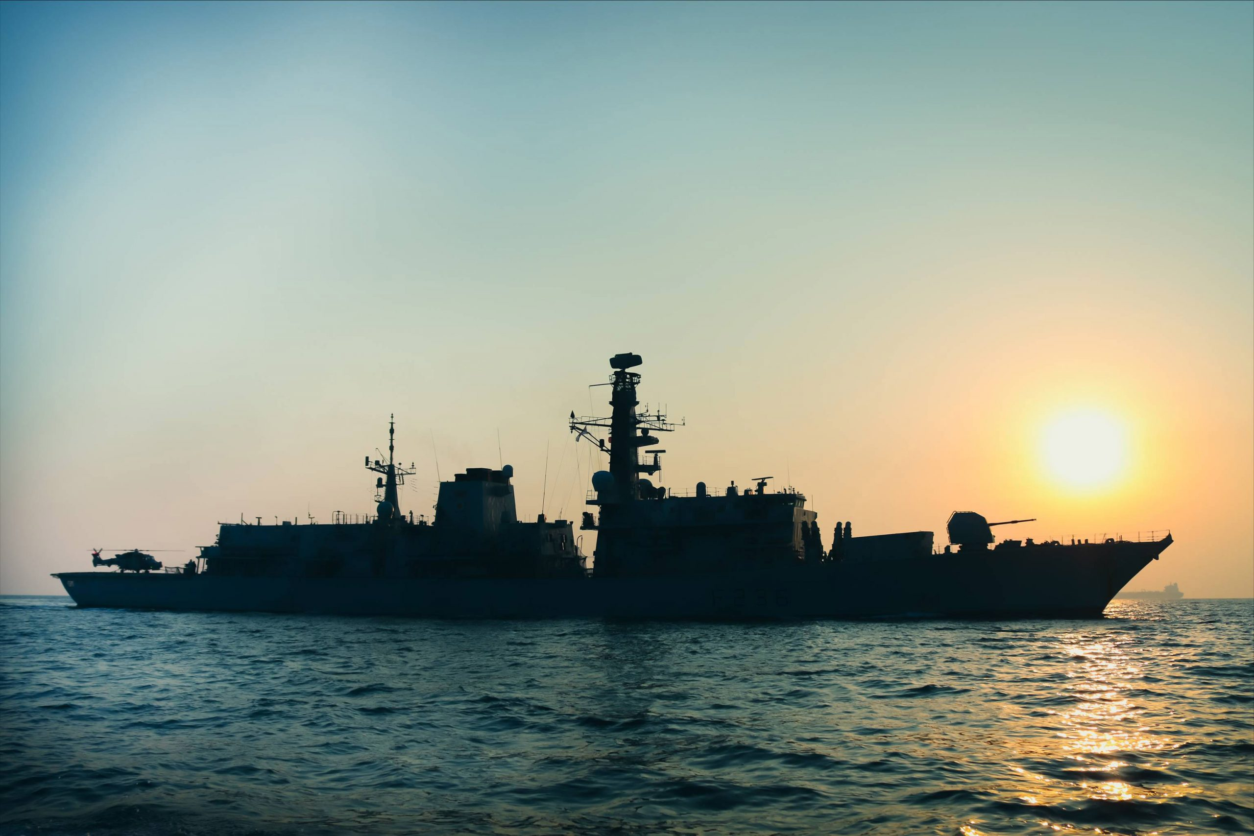 Royal Navy-led Gulf Task Group Protects 100 Million Tonnes of Cargo Every Month