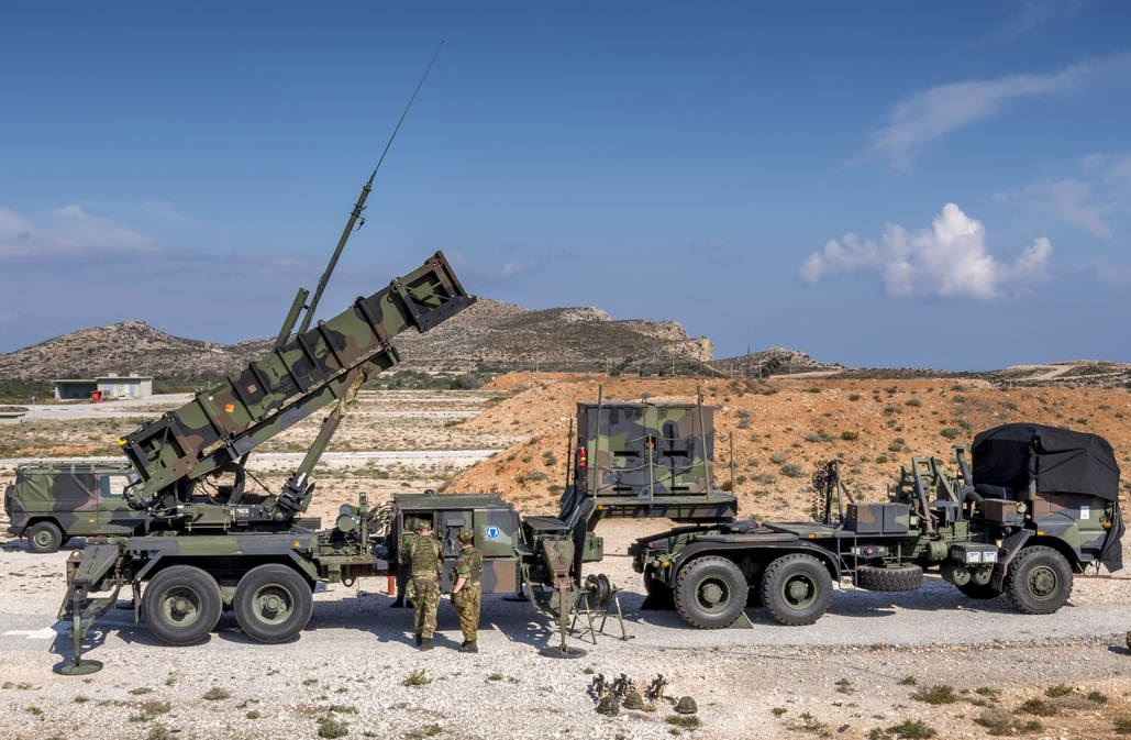 Royal Netherlands Army Patriot Air Defence system