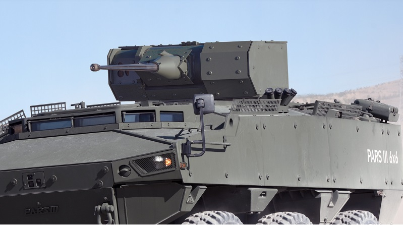 FNSS SABER 25 Remote Controlled Turret (RCT)