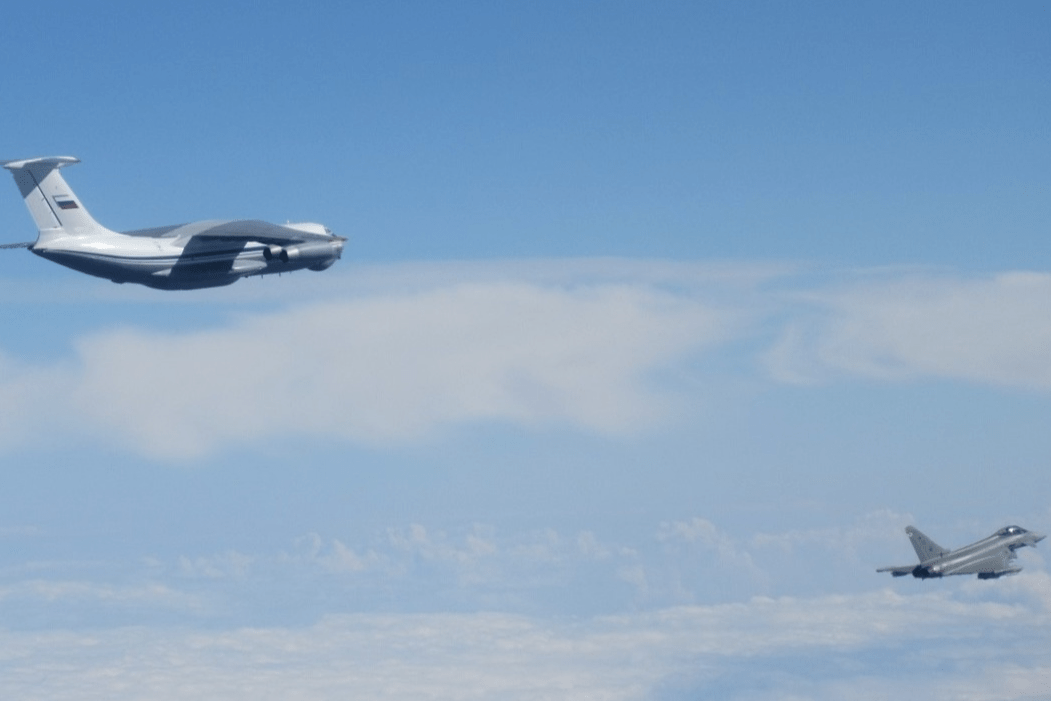 Spanish Eurofighters and Italian F-35 Fighters Intercept Russian Aircraft Over the Baltic Sea