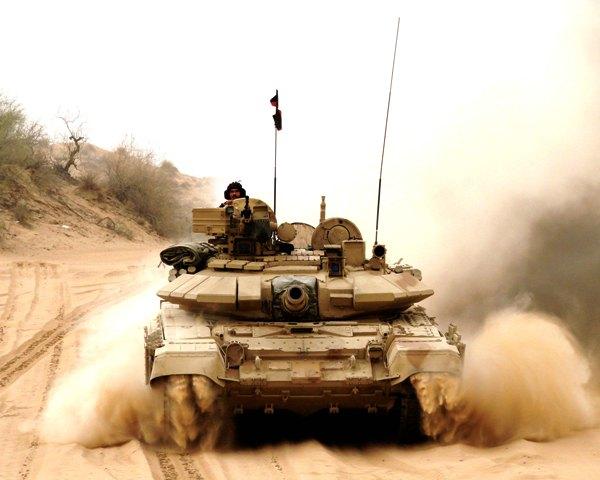 Indian Army T-90S Bhishma main battle tank