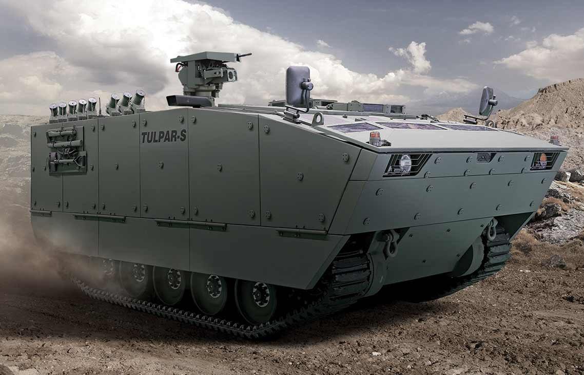 TULPAR-S Armored Tracked Vehicle