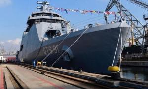 Turkey's Anadolu Shipyard Delivers 1st Naval Cadet Training Ship for Qatari Emiri Navy