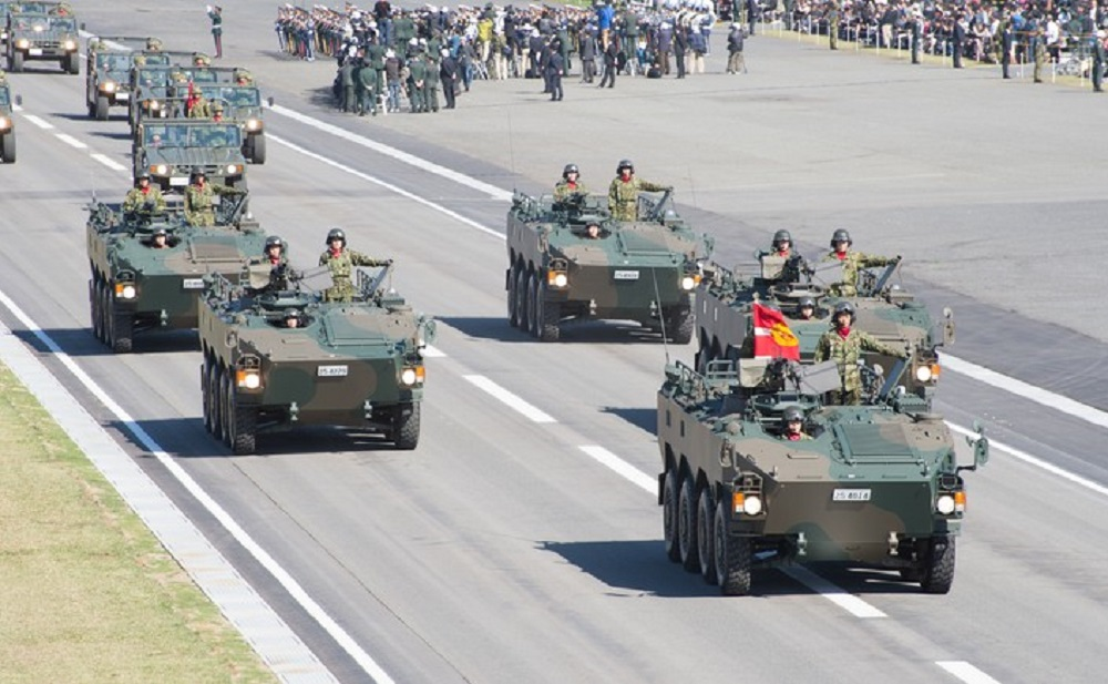 Japan Ground Self-Defense Force Type 96 Wheeled Armored Personnel Carrier
