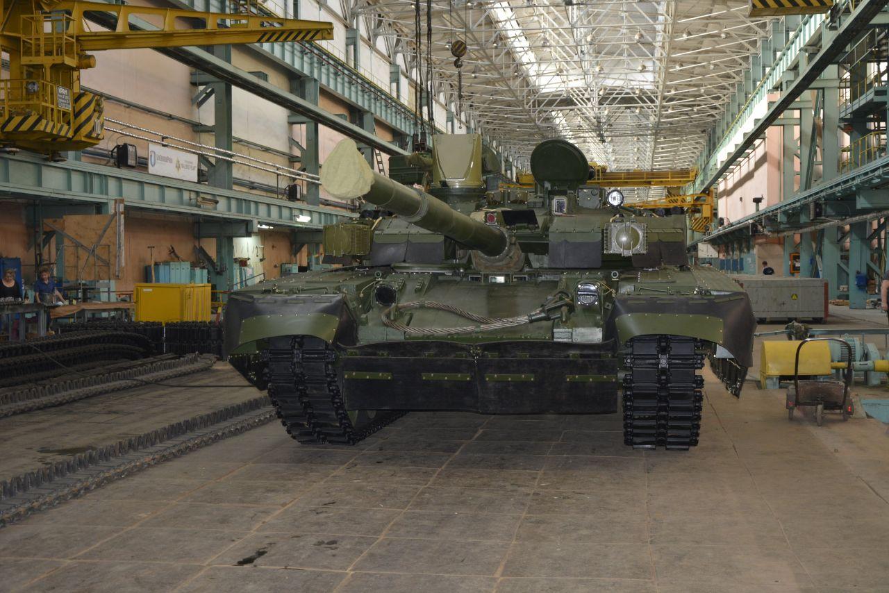 Ukraine Defense Company Malyshev Plant Delivered Upgraded Oplot Main Battle Tank to Ukrspetsexport