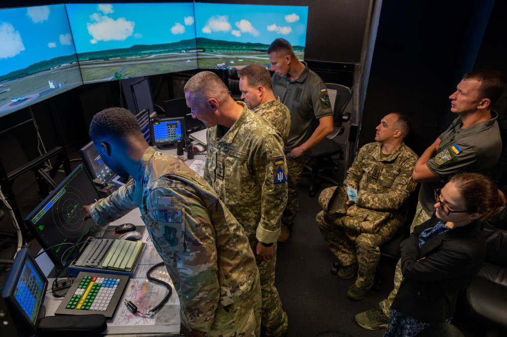 US Air Force and Ukraine Armed Forces Strengthen Partnership in Ramstein Air Base, Germany