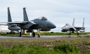 US Air Force F-15 Fighter Jets Complete NATO Air Policing Deployment to Iceland
