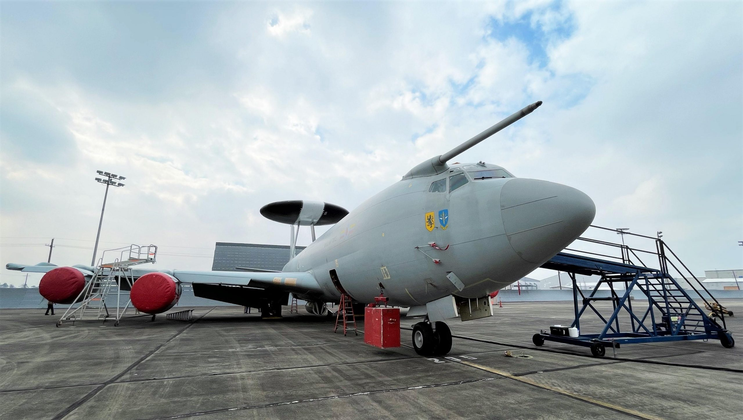 US Navy Acquires Boeing E-3 Sentry from Royal Air Force as Trainer for E-6B Mercury Fleet