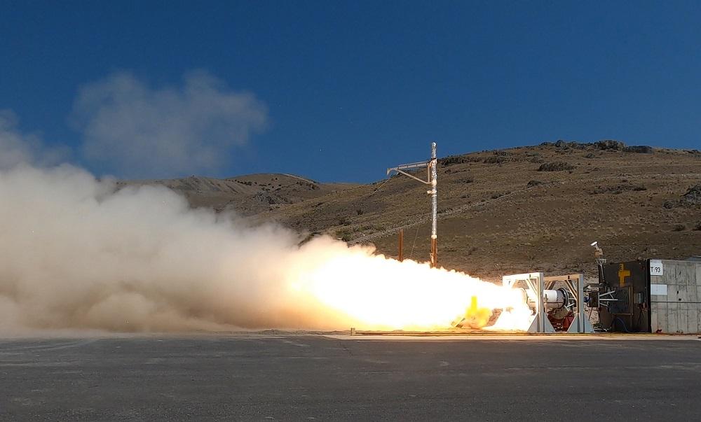 US Navy Tests Second Stage Hypersonic Rocket Motor in Promontory, Utah