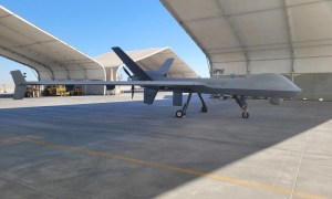 """US Marine Corps' First MQ-9A """"Reaper"""" Remotely Piloted Aircraft"""