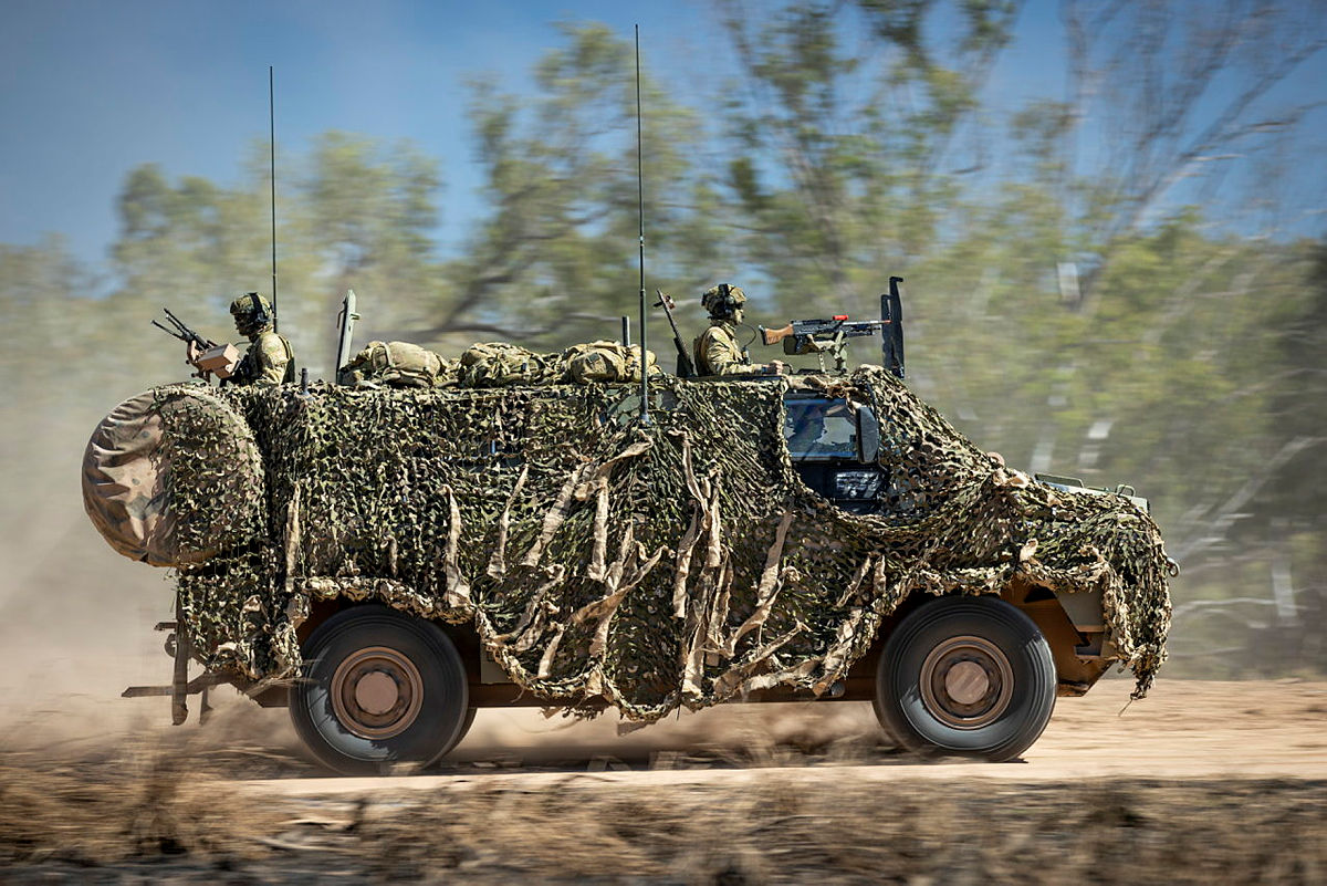 Thales Bushmaster Protected Mobility Vehicle