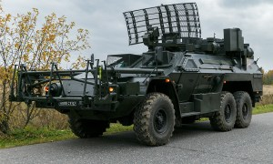 Ruselectronics Listva Remote Mine Clearing Vehicle