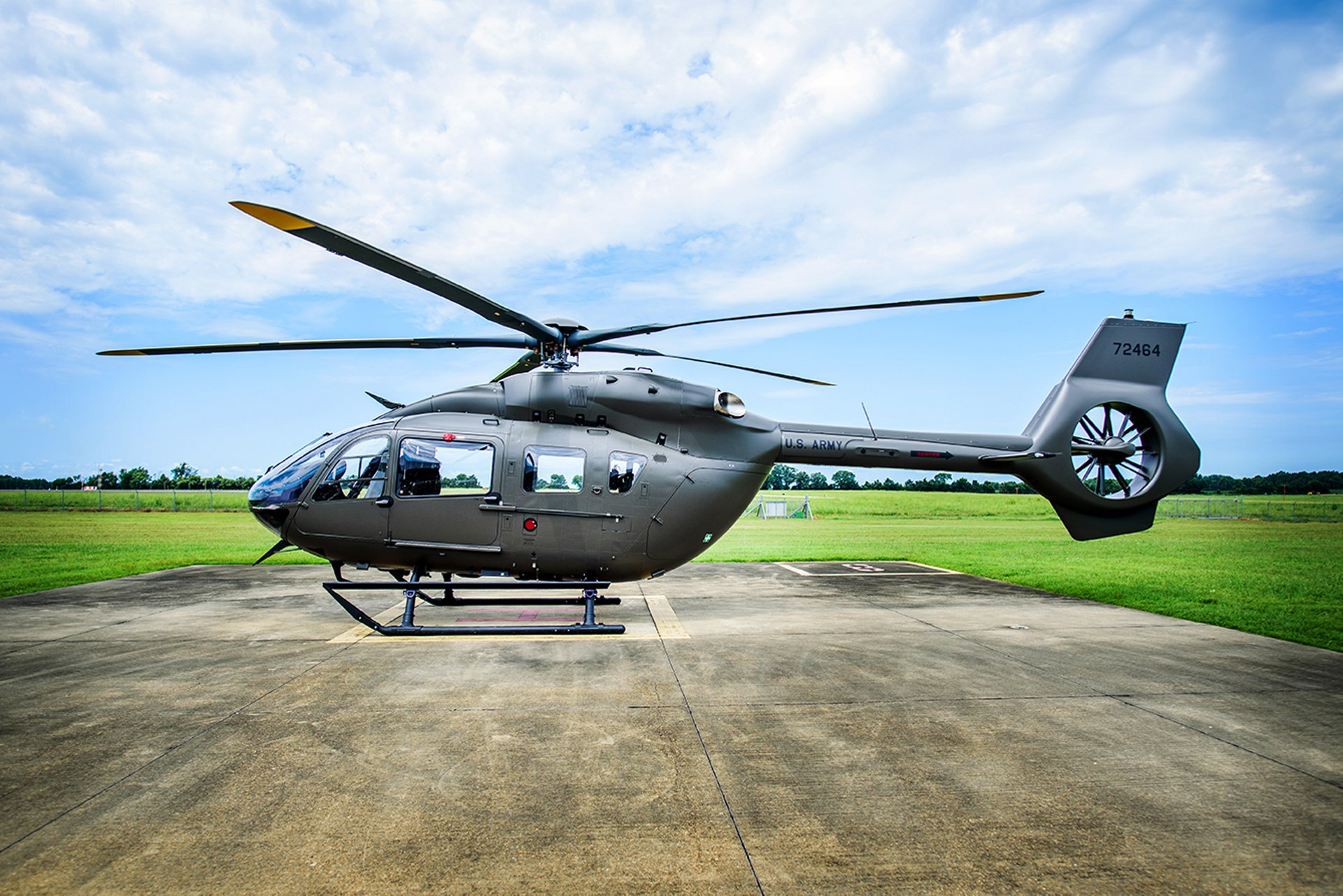 Airbus Delivers First UH-72B Lakota Military Helicopter to US Army National Guard