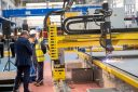 Babcock Cuts First Steel for Royal Navy's Type 31 Frigate HMS Venturer at Rosyth