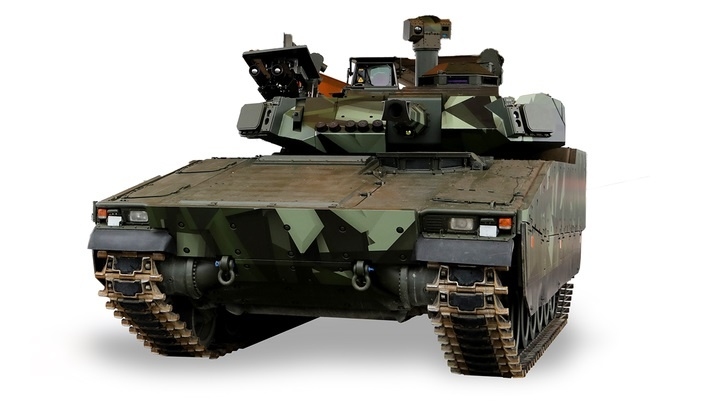 BAE Systems' Unveils Its CV90 Infantry Fighting Vehicle with D-series Turret at DSEI 2021