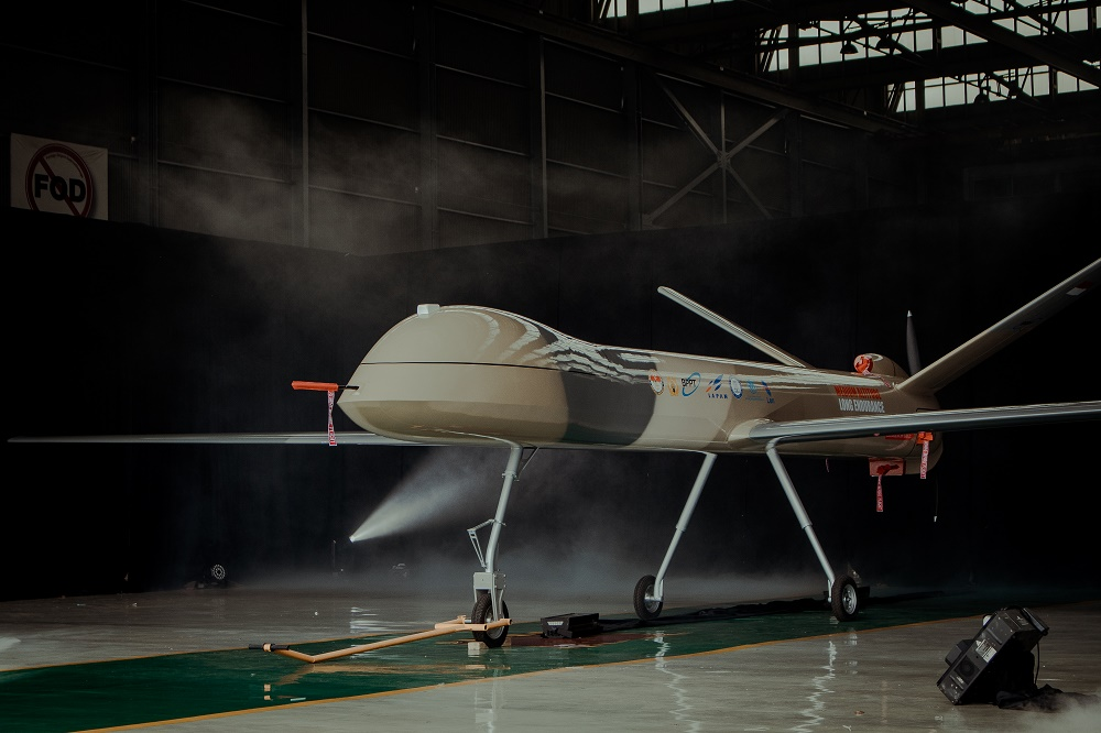 Elang Hitam unmanned combat aerial vehicle (UCAV)