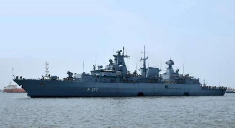 German Navy Frigate FGS Bayern (FFG-217) Visits Karachi Port, Pakistan