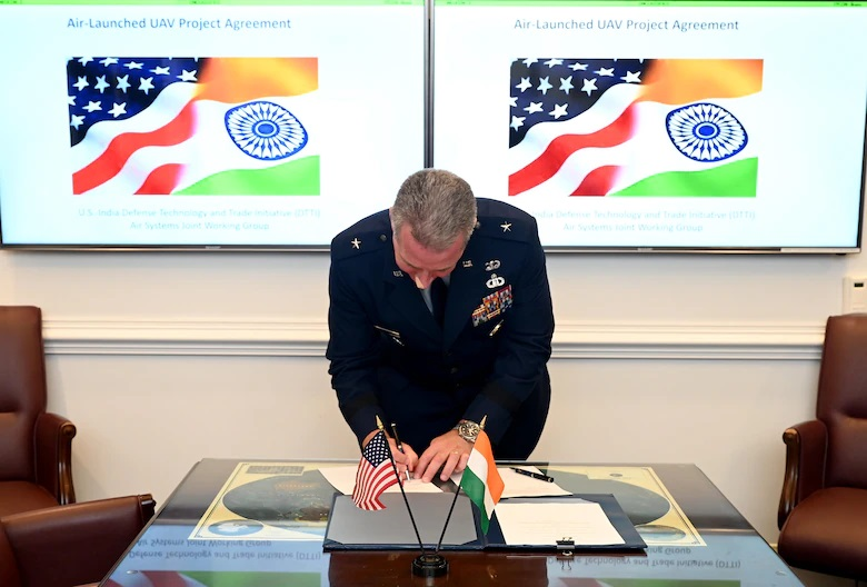 India and US sign Project Agreement for Air-Launched Unmanned Aerial Vehicle