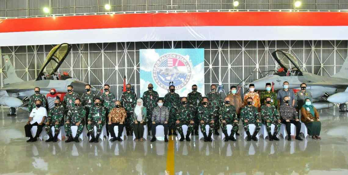 Indonesian Air Force Falcon STAR and EMLU programme