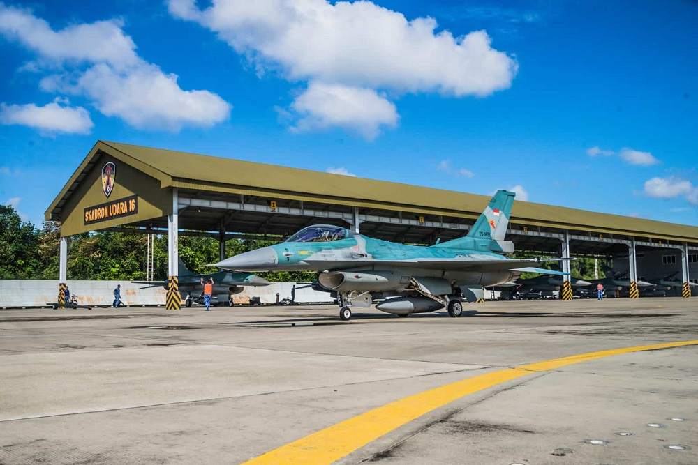 Indonesian Air Force F-16 Block 52ID