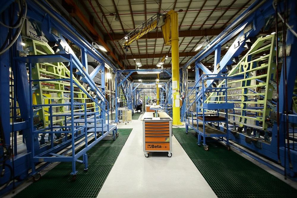 Israel Aerospace Industries (IAI) F-16 production line