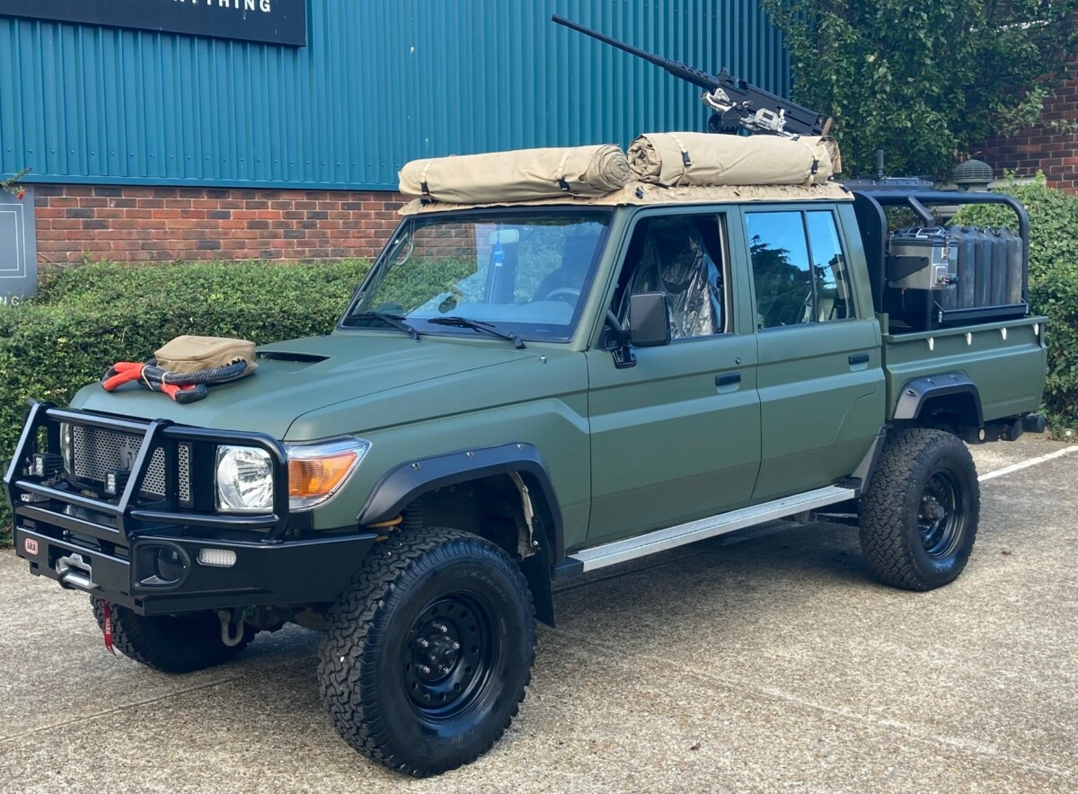 Jankel Unveils Its New Fox Tactical Utility Vehicle (TUV)