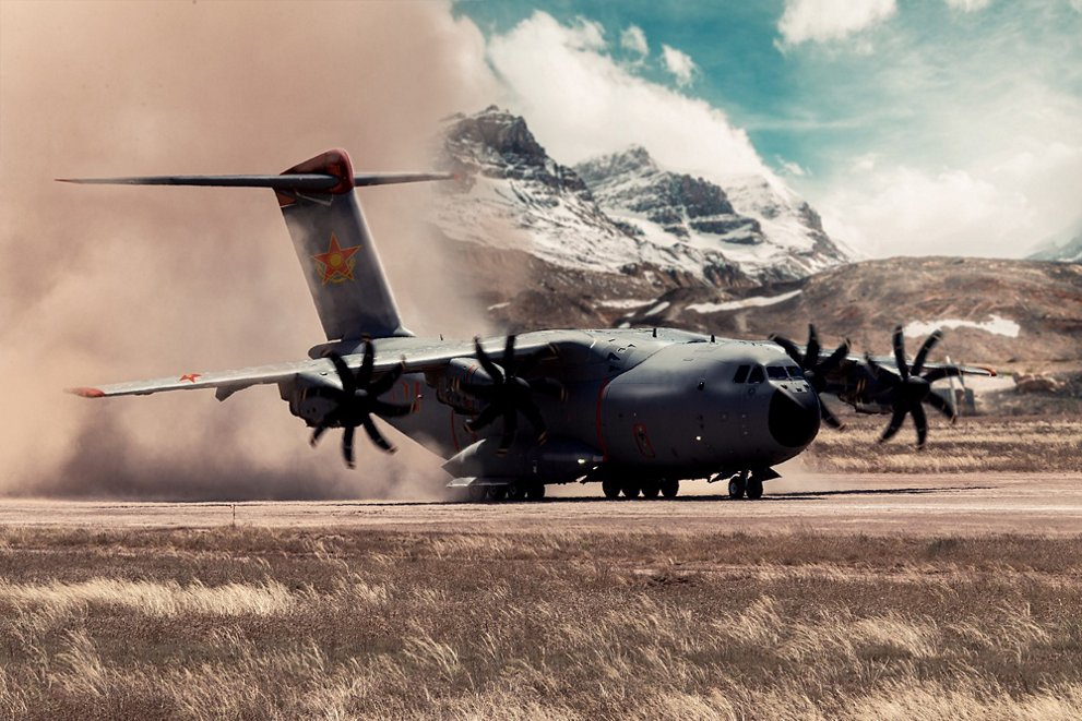 Kazakh Air Defense Forces Orders Two Airbus A400M Military Transport Aircraft