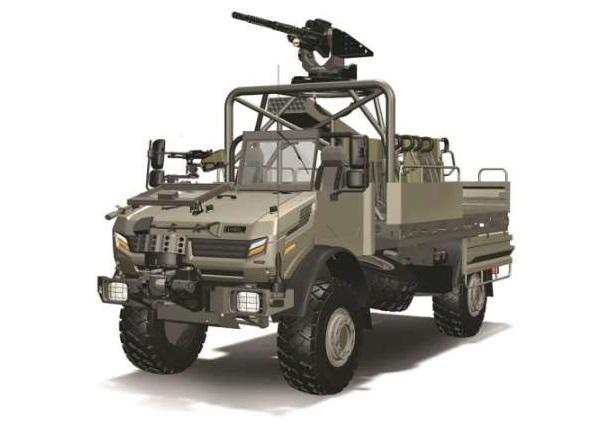 Jankel Light Tactical Transport Vehicle (LTTV)