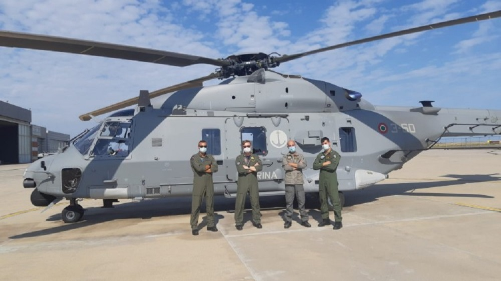 NHIndustries Completes Final Delivery of Italian Navy NH90 MITT Tactical Transport Helicopter Fleet