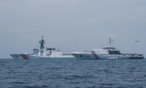 Philippine Coast Guard and US Coast Guards Conduct Joint Maritime Exercise in Subic