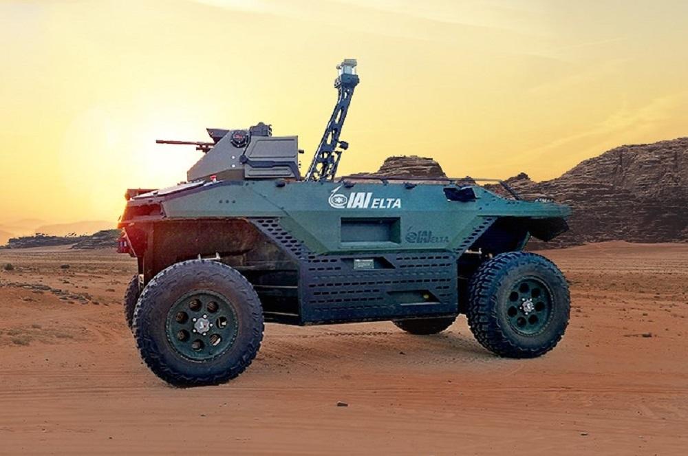 Israel Aerospace Industries Unveils Rex MK II Multi-Mission Unmanned Land Vehicle