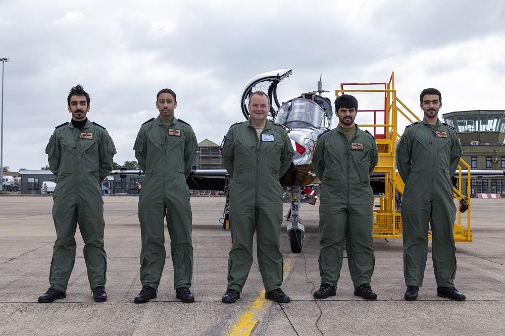Royal Air Force Leeming Welcomes First Qatar Emiri Air Force Hawk Advanced Trainer Aircraft