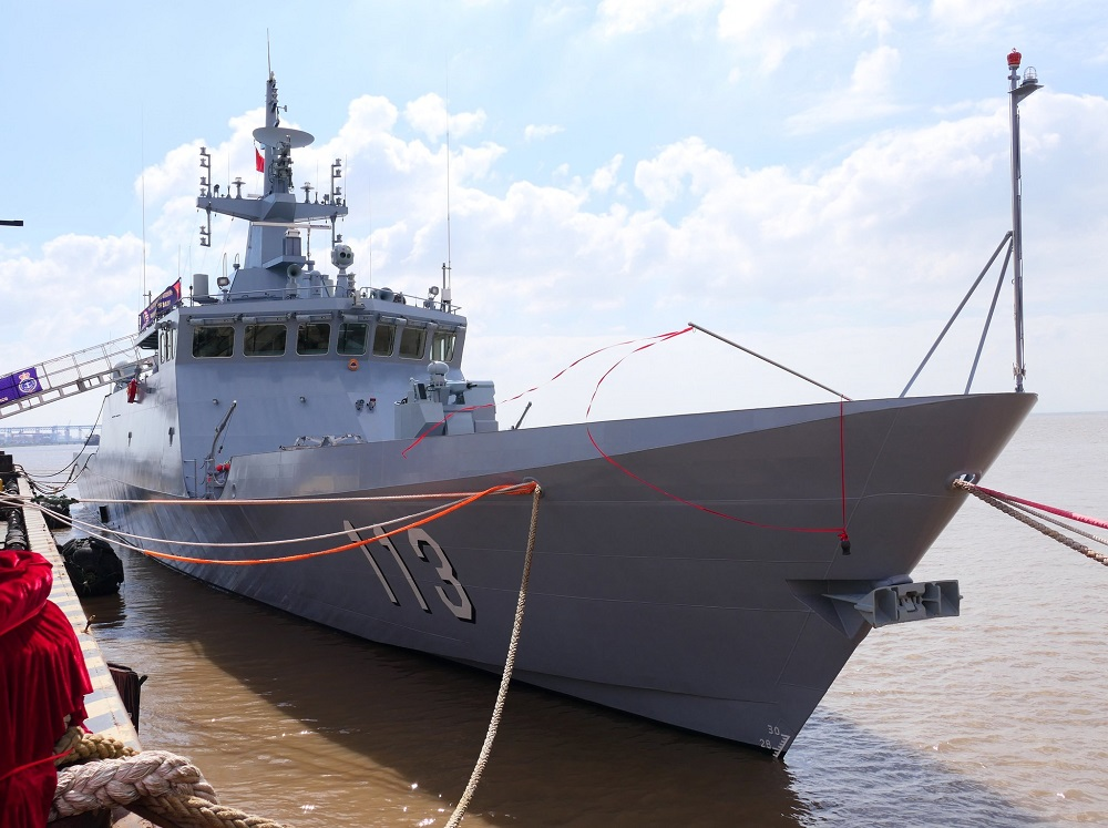 Royal Malaysian Navy Third Keris-class Littoral Mission Ship Named