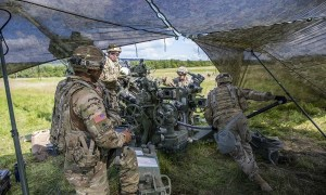Saber Junction 21 Kicked Off at the Grafenwoehr Training Area, Germany