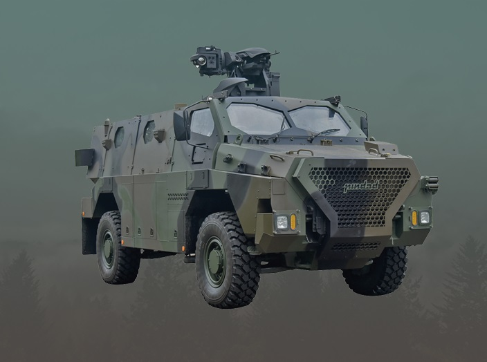 The Sanca is based on the Thales Australia Bushmaster, and has been modified for Indonesian requirements.