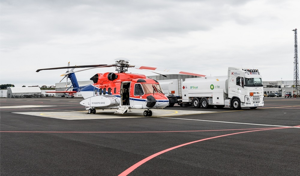Sikorsky S-92 Helicopter Completes First Flight Using Biofuel