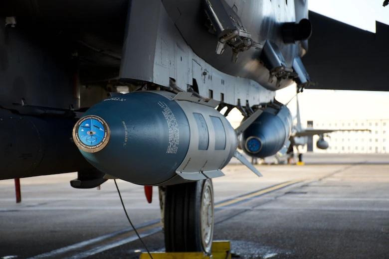 US Air Force F-15E Completes First Successful Maritime GBU-31 JDAM Test