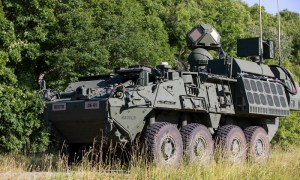US Army to Field 50kW-class Laser-equipped Stryker Combat Vehicle Prototypes in FY 2022