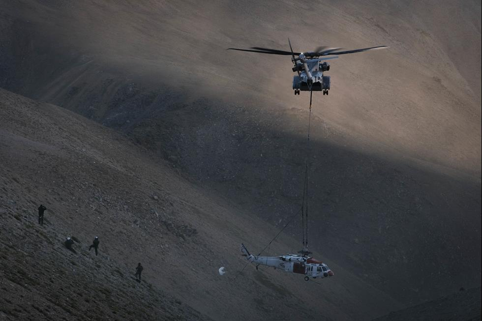 US Marine Corps CH-53K King Stallion Helicopter Logs First Successful Fleet Mission