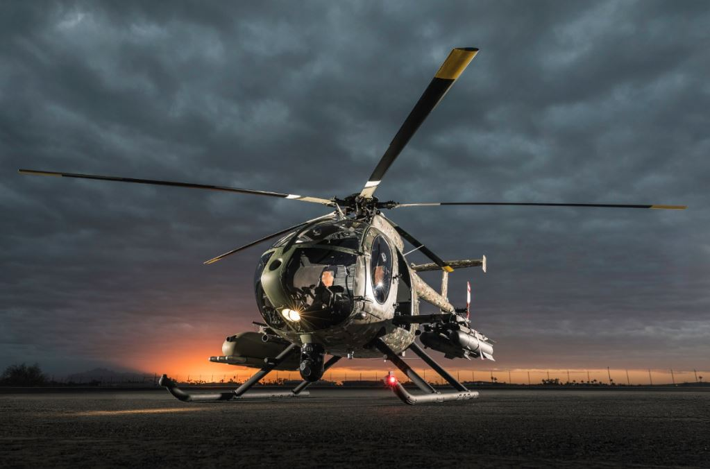 MD Helicopters IncMD 530G light-attack helicopters