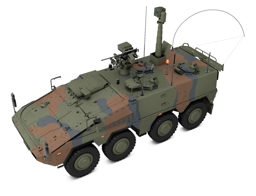 ARTEC Awarded Contract for New BOXER Joint Fire Support Team (JFST) Prototypes