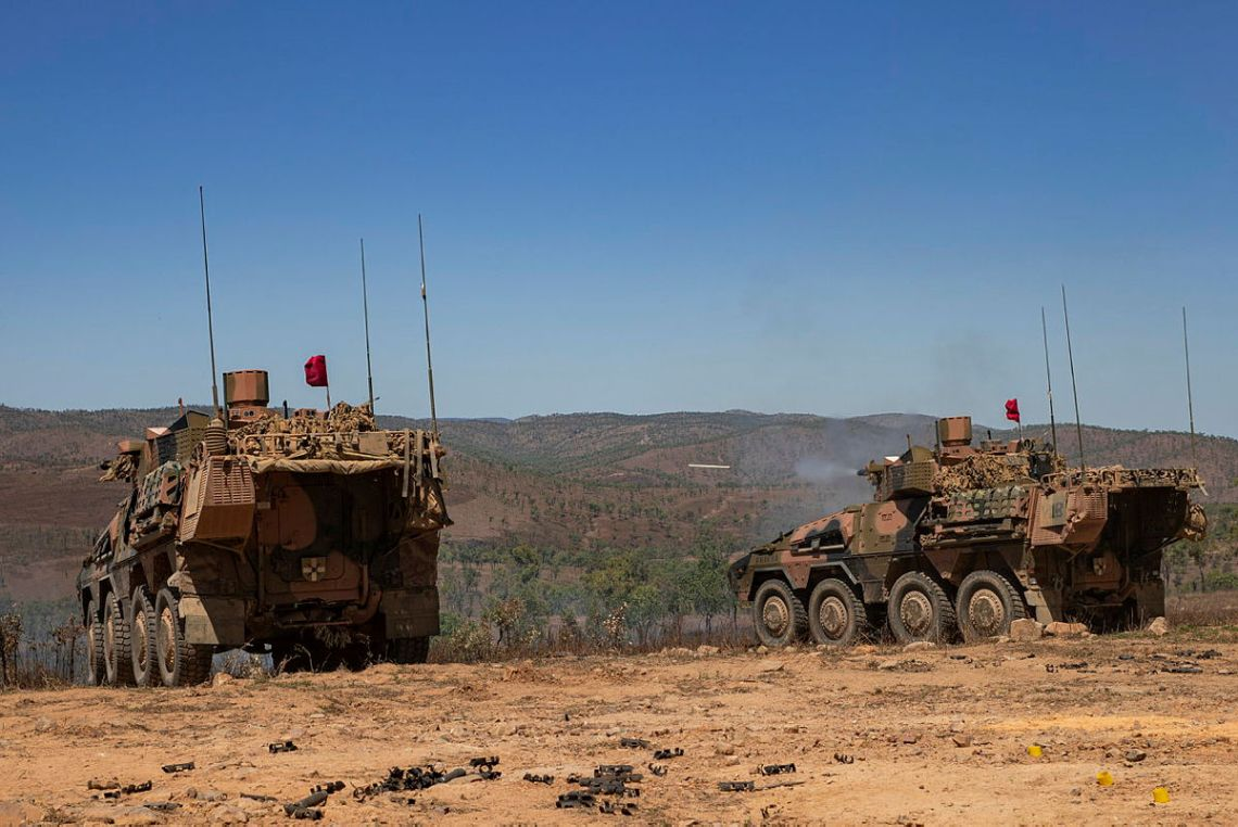Australian Army Boxer Combat Reconnaissance Vehicles Capability Pushed to the Limit