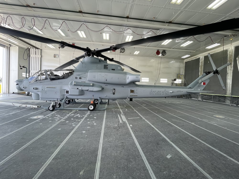 Bell Textron Inc Completes First Bahrain AH-1Z Viper Attack Helicopter
