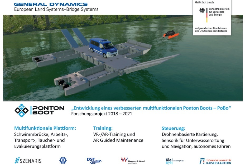GDELS-Bridge Systems to Demonstrate Pontoon Boat System for Civil Protection and Disaster Relief