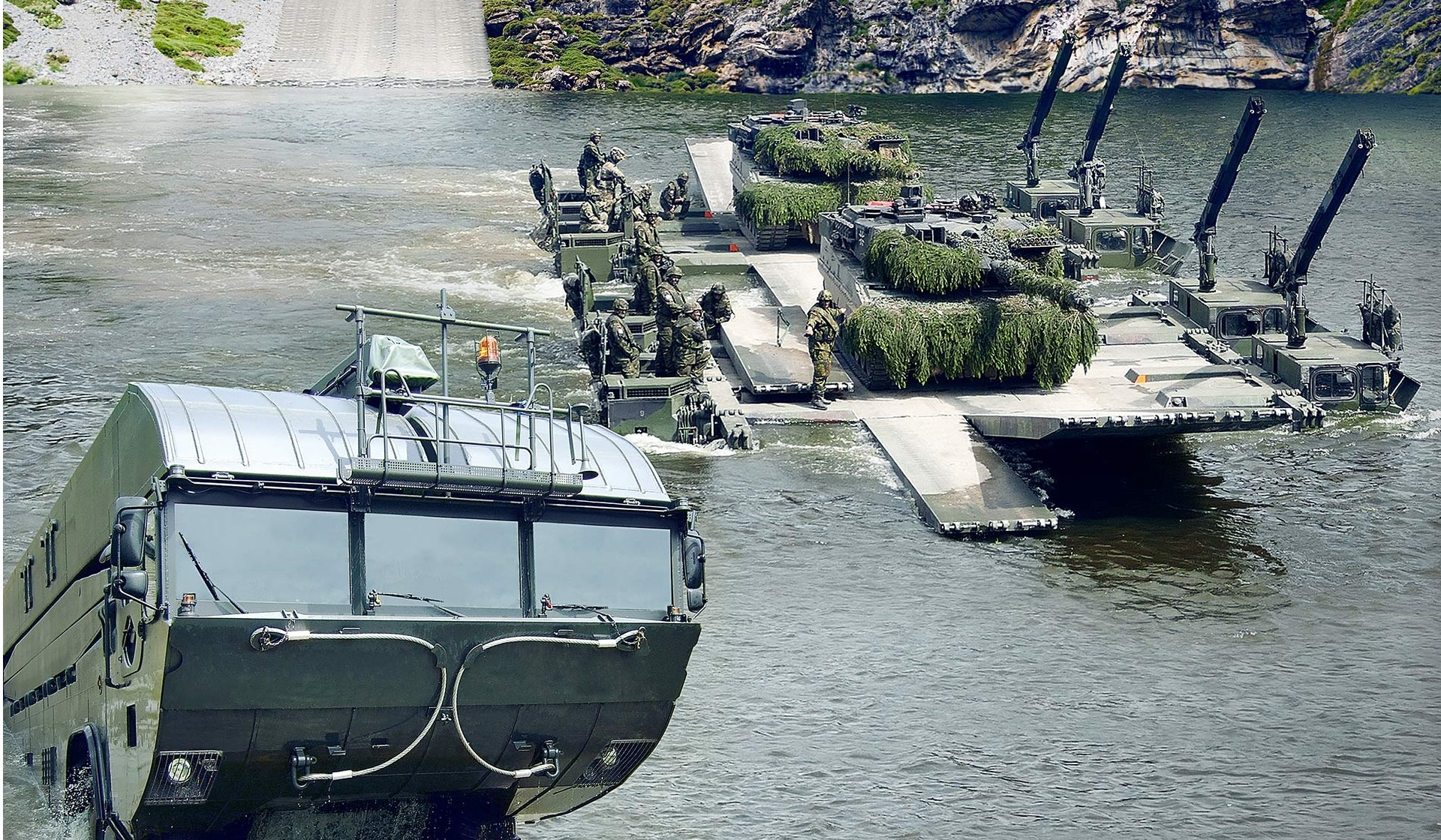 General Dynamics to Supply M3 Amphibious Bridge and Ferry System to Latvian Land Forces