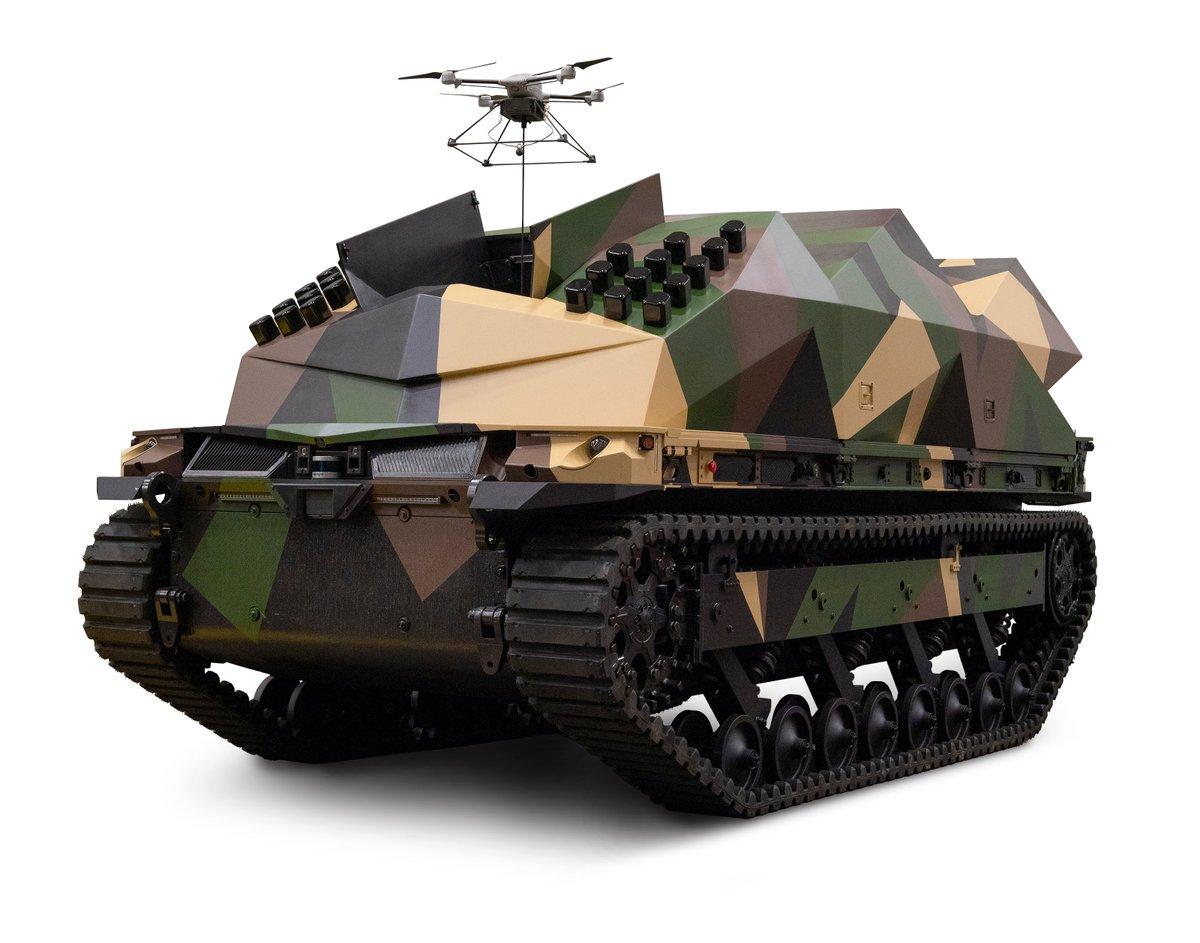 General Dynamics Unveils Tracked Robot 10-Ton (TRX) at AUSA 2021