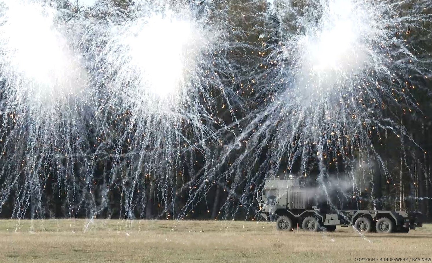German Armed Forces to be Equipped with Rheinmetall's ROSY Rapid Smoke/Obscurant System